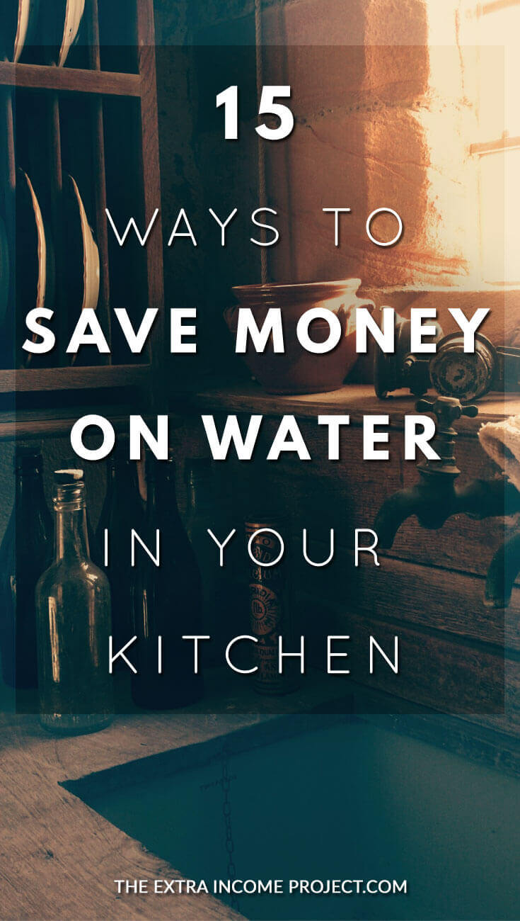 If you are looking for frugal living tips for the home, here are 15 ways to save money on water in the kitchen from The Extra Income Project.