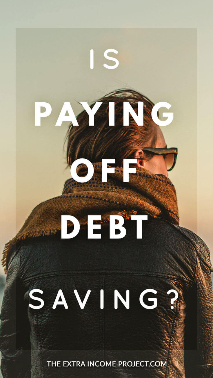Is paying off debt a method of saving? What would you advise this guy? Should he pay off debt or build emergency savings. The Extra Income project discusses why paying off debt can be considered a form of savings and some of the things you should consider.