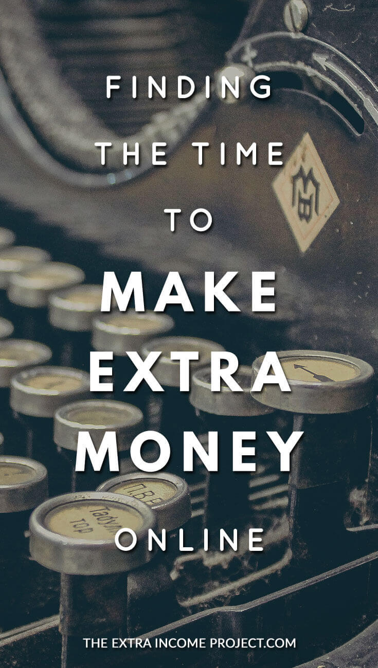 Struggling to find the time to make extra money online? Here's some encouragement for you. Don't give up. If you are looking to make an extra income online, just keep moving forward a little each day!