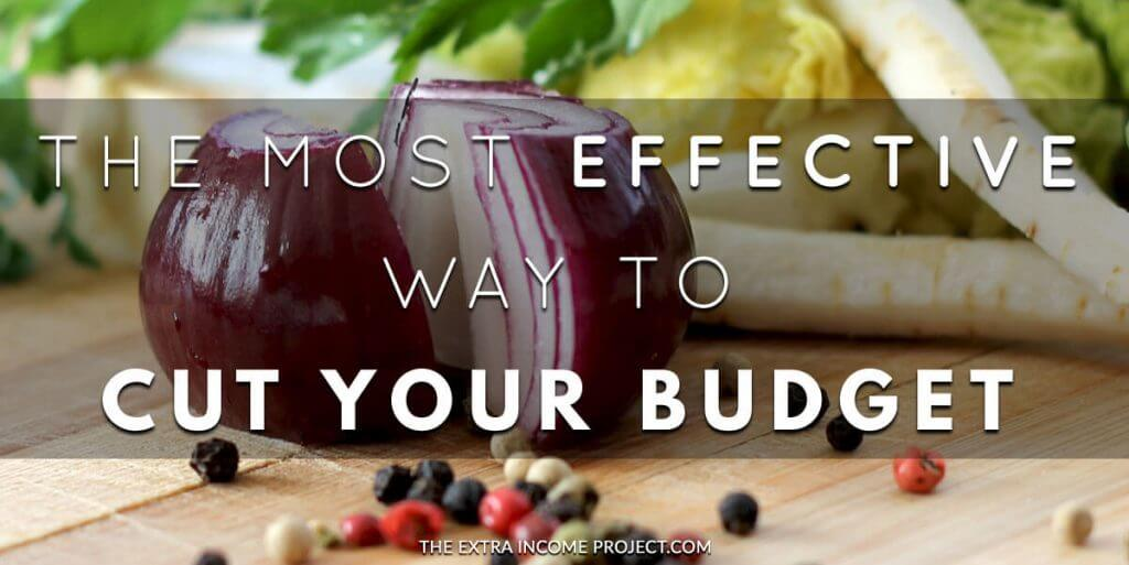 The Most Effective Way to Cut Your Budget