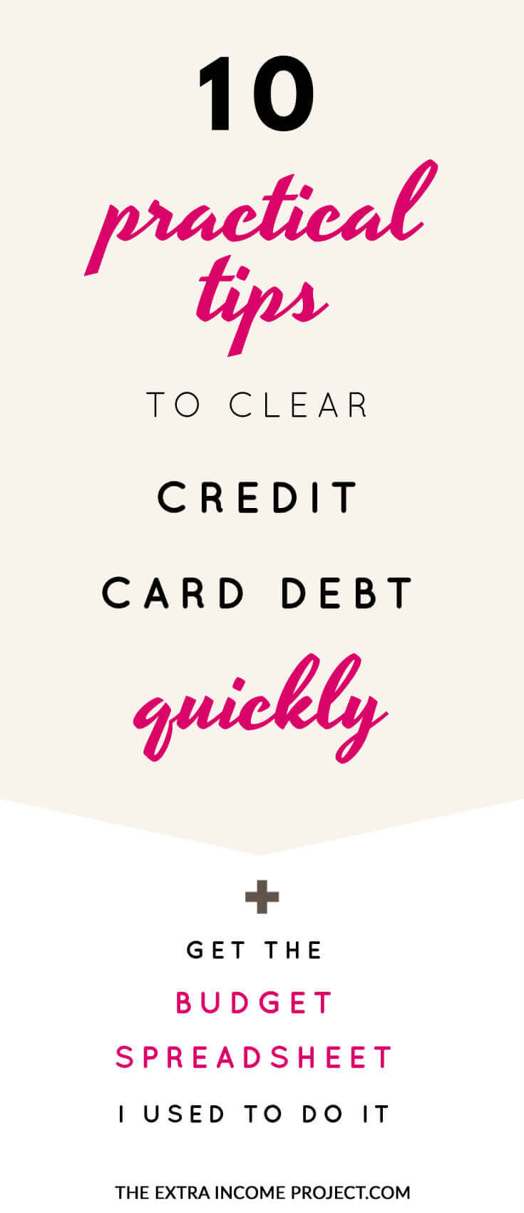 10 practical tips to clear credit card debt quickly for Quick will template