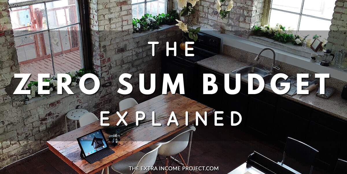 The Zero Sum Budget Explained - Budget your money with the Zero-Sum Method and take control of your finances. The Zero sum budget will help you pay off debt fast and jumpstart your efforts to become debt free. PLUS, download my FREE budget planner spreadsheet template.