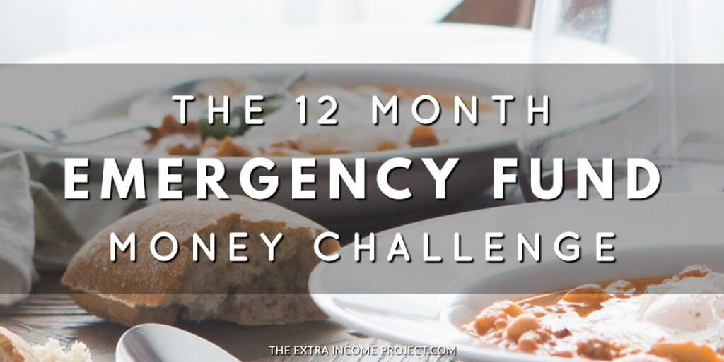 12 Month Emergency Fund Challenge