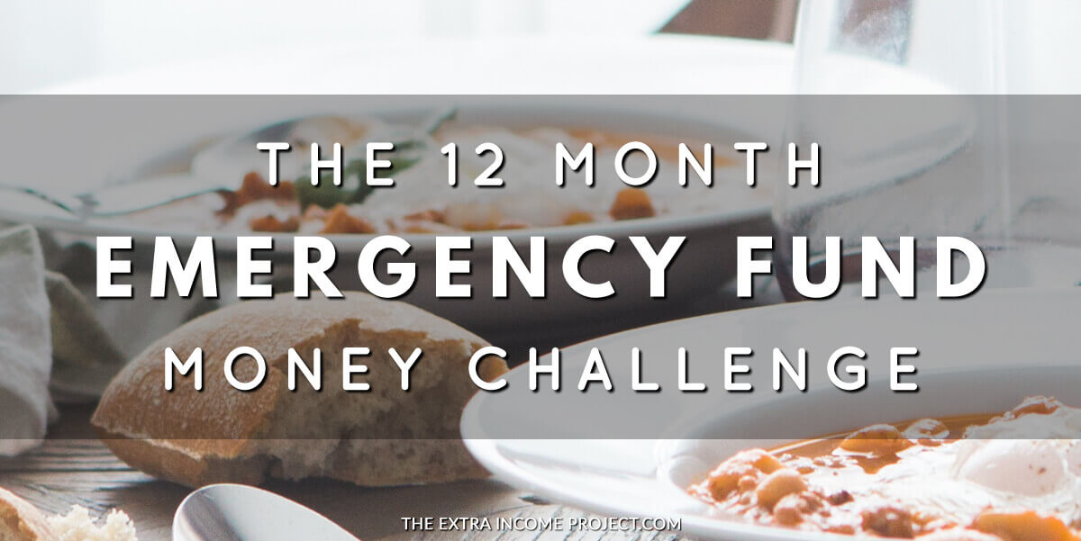 Take this 12 Month Money Challenge to save over $1000 toward an emergency fund this year. Plus find out what happened to me when I didn't have an emergency fund!