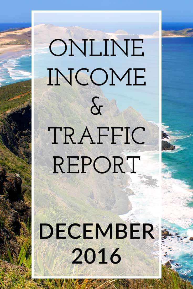 The Extra Income Project's December 2016 Online Blogging Income & Traffic Report - Find blogging tips & tricks, blogging help and advice on affiliate marketing for your blog inside this report. Click for details.