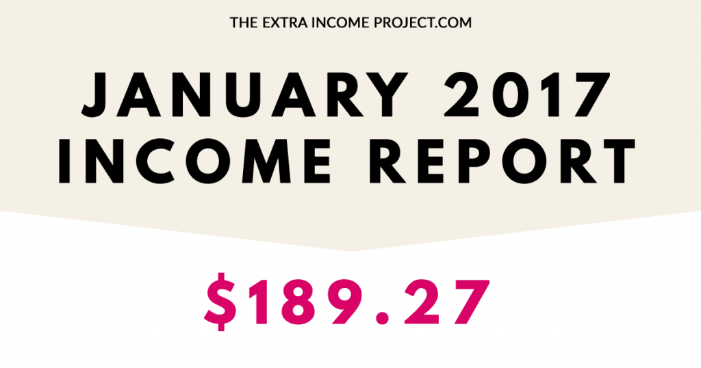 January 2017 Online Income & Traffic Report