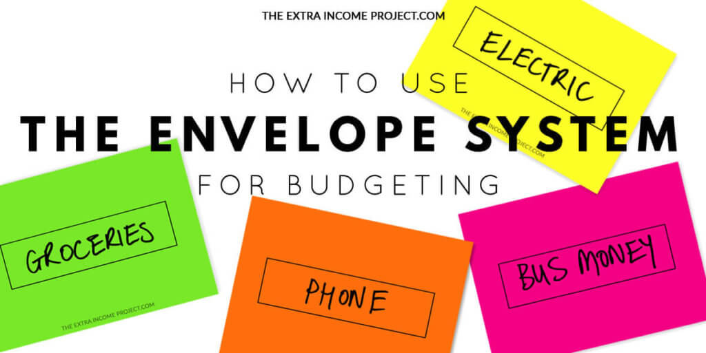 How to use the envelope system for budgeting