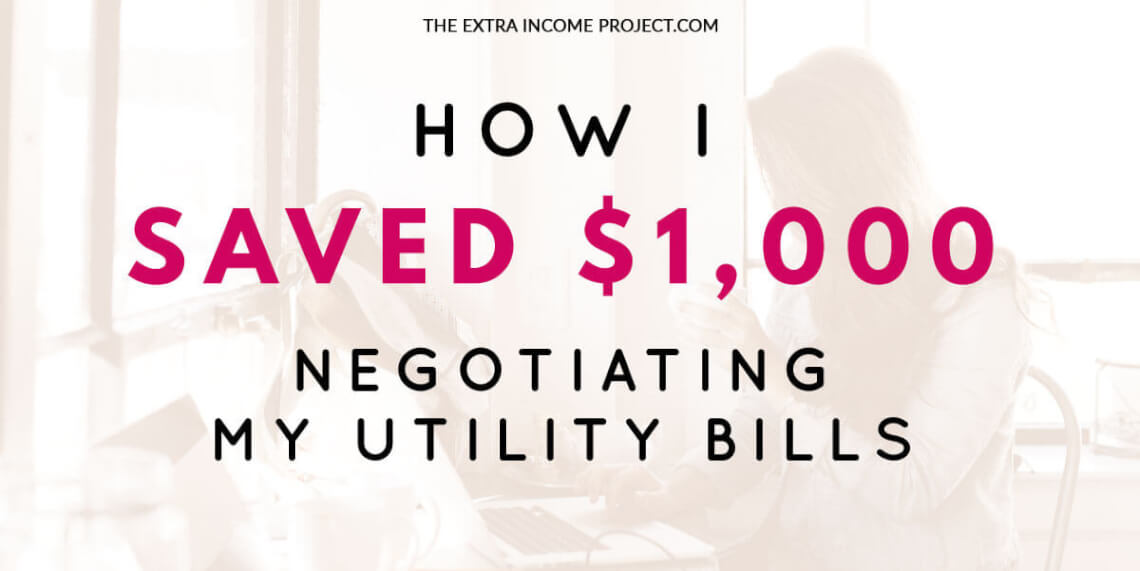 How I Saved $1,000 Negotiating My Utility Bills